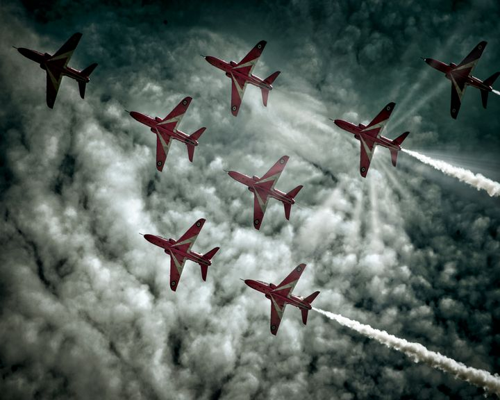 RAF Red Arrows Display Team - Edmund Nagele F.R.P.S.