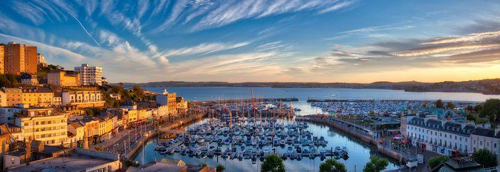 Torquay Harbour - Edmund Nagele F.R.P.S.