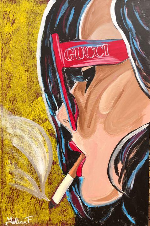 No Smoking - IulianF Paintings