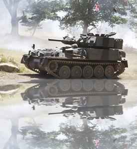 Battle tank.