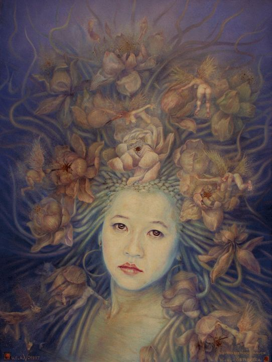 The Fantasy Portrait 1 - Veerachan Usahanun