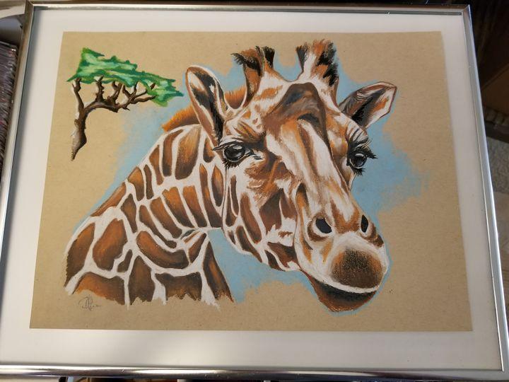 Curious giraffe - Lifesthings
