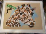 Original drawing of giraffe