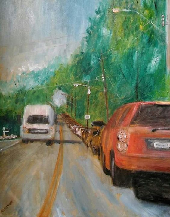 FOREST HILL RD #2-16X20 - NORUWA ARTS