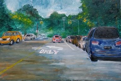 FOREST-HILL ROAD-24X36-OILS - NORUWA ARTS