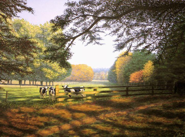 Landscape in the autumn - Ernst Art