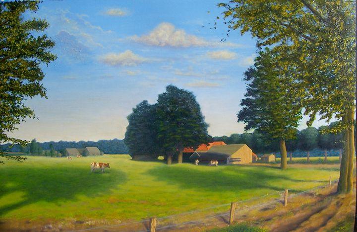 Summer landscape - Ernst Art