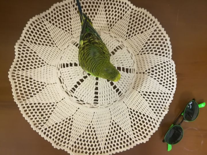 Handmad knitted Sun HAT - ANATOLIAN WOMEN