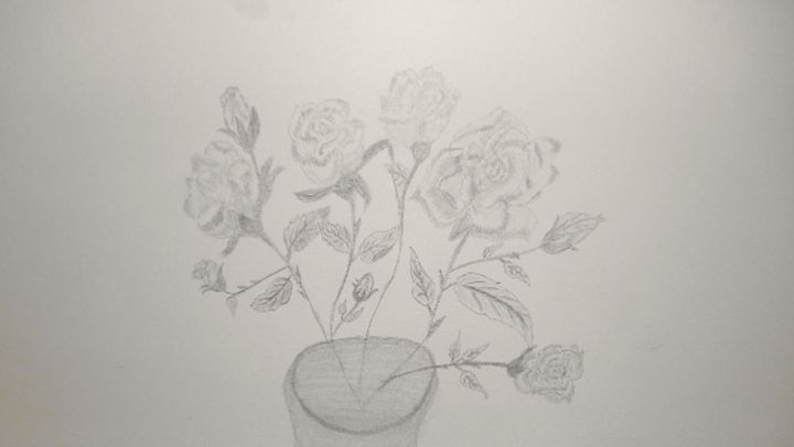 Roses - Holly's Gallery of Art