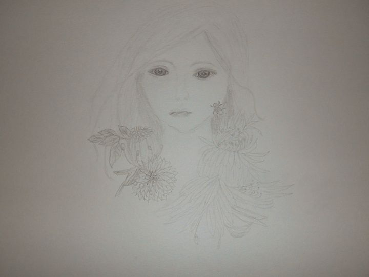 Girl/Wasp - Holly's Gallery of Art