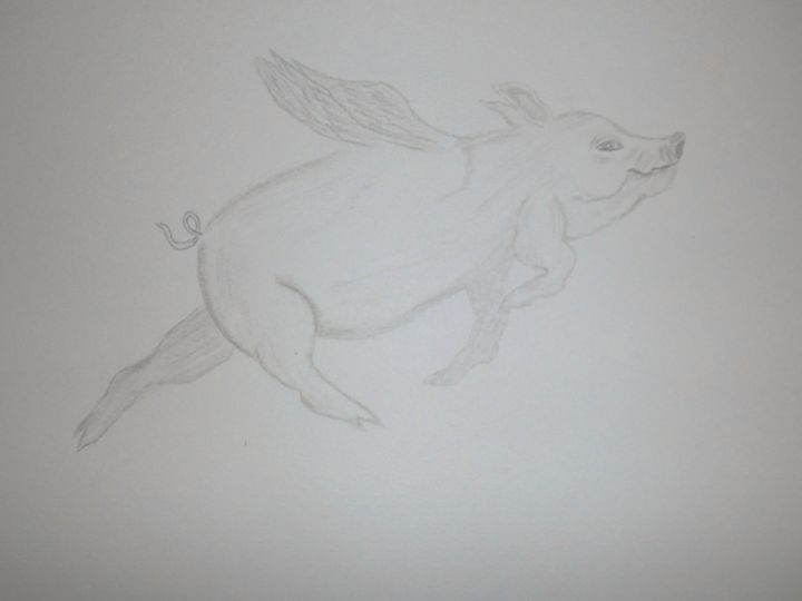 When Pigs Fly - Holly's Gallery of Art