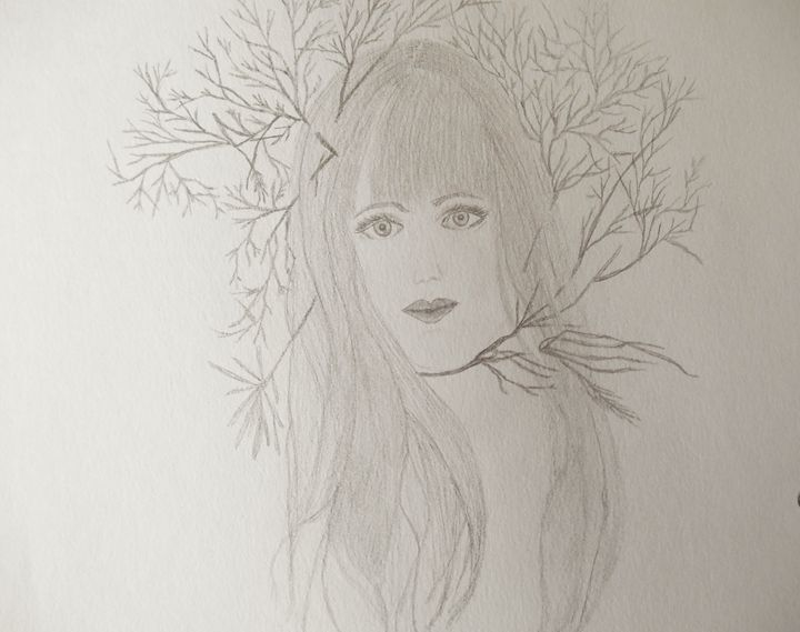 Nature Woman - Holly's Gallery of Art