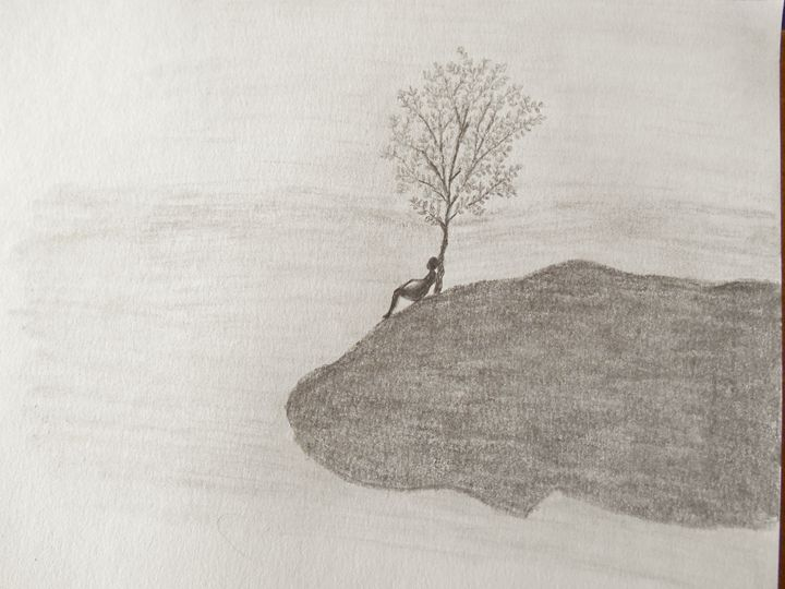 Solitude - Holly's Gallery of Art
