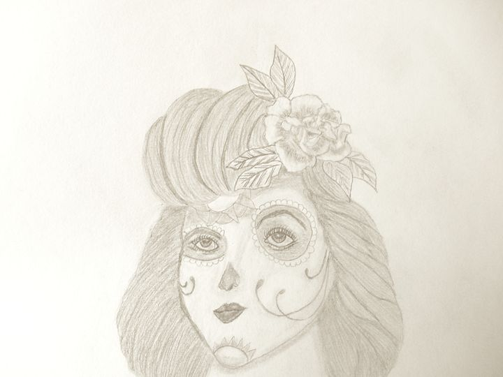 Dia De Muertos - Holly's Gallery of Art