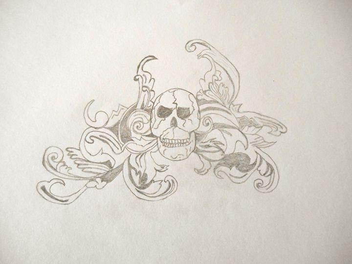 Skull - Holly's Gallery of Art