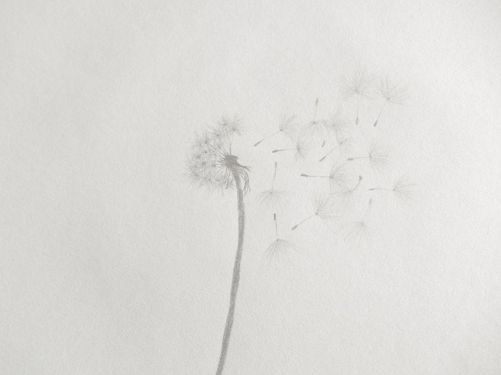Dandelion - Holly's Gallery of Art