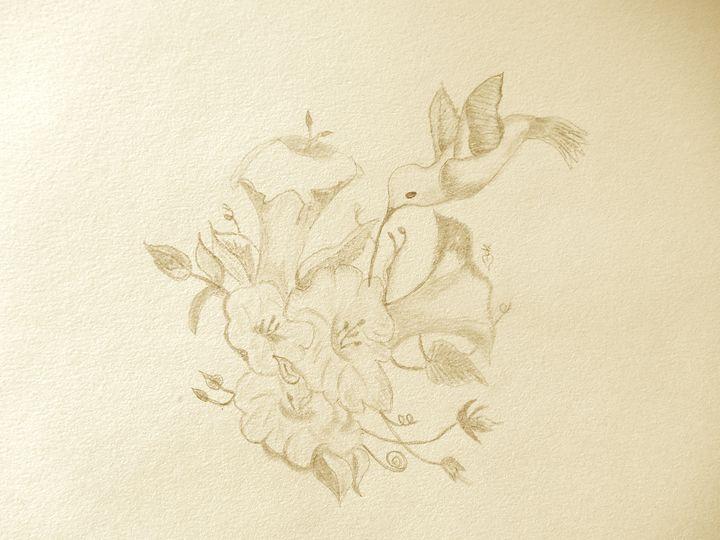 Hummingbird - Holly's Gallery of Art