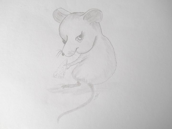 Sneaky little Rat - Holly's Gallery of Art