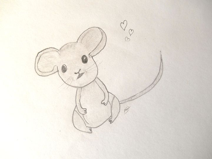 Mousey - Holly's Gallery of Art