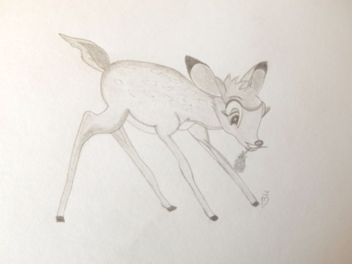 Bambi - Holly's Gallery of Art