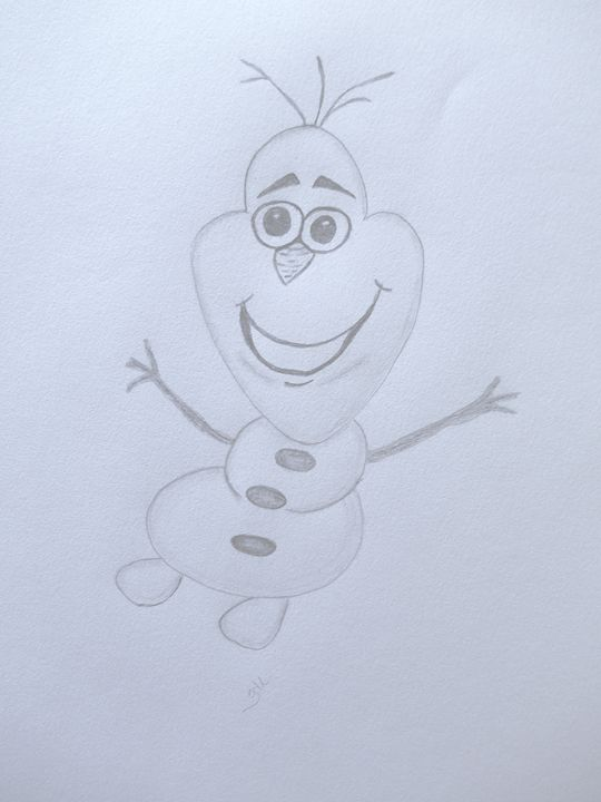 Olaf - Holly's Gallery of Art