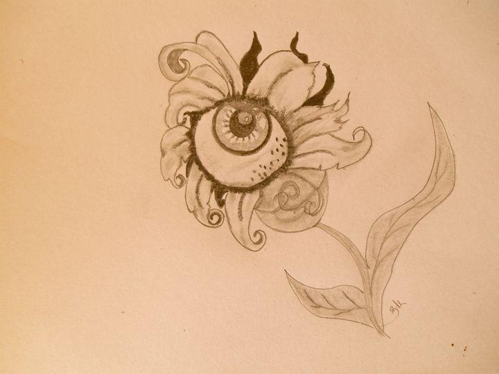 Eye of the Flower - Holly's Gallery of Art
