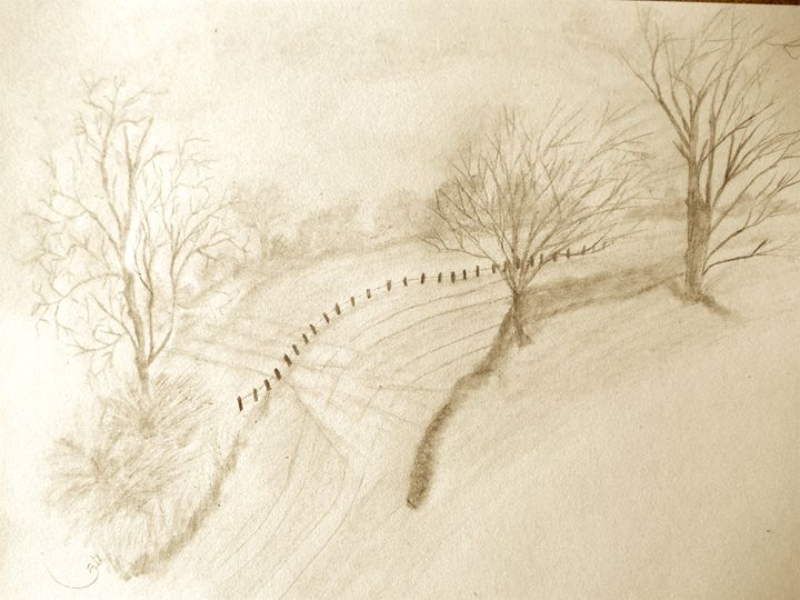 Country Road - Holly's Gallery of Art
