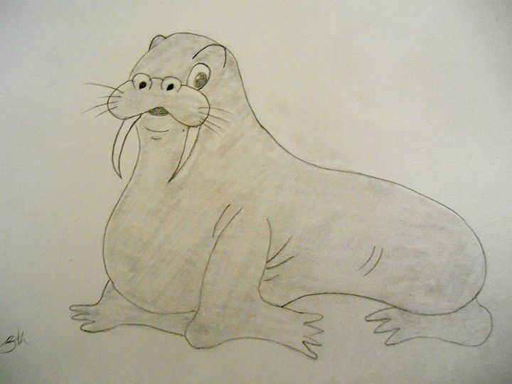 Willie the Walrus - Holly's Gallery of Art