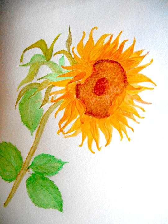 Sunflower - Holly's Gallery of Art
