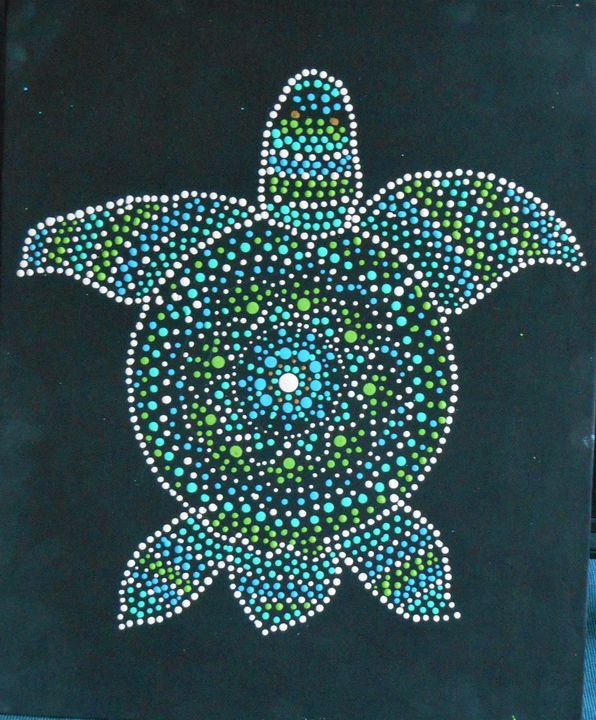 Sea Turtle - Holly's Gallery of Art