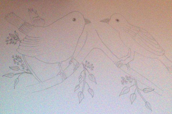 Love Birds - Holly's Gallery of Art
