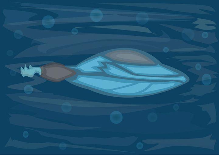 submarine - vector artworks