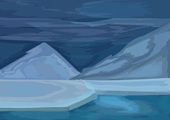 Antarctica - vector artworks