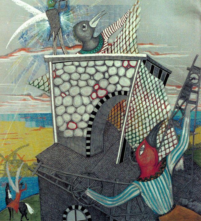 Legend About Birds Island. - Alex Diadav (Alexander Spivak)