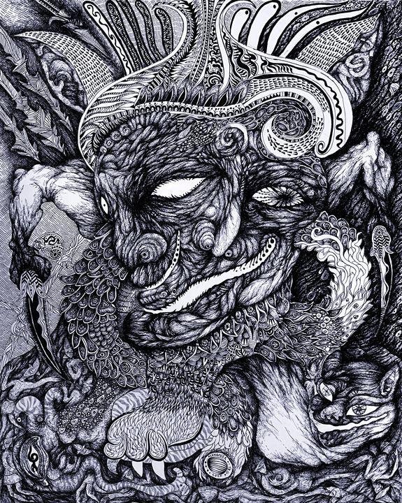 Haribin - God of War - Alex Diadav (Alexander Spivak)