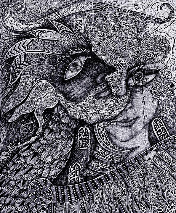 Amazon Itra and Dragon Alexander. - Alex Diadav