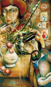 Christmas family.