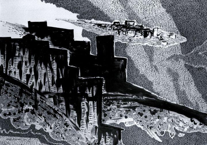 Jerusalem Drowning in Clouds - Alex Diadav (Alexander Spivak)