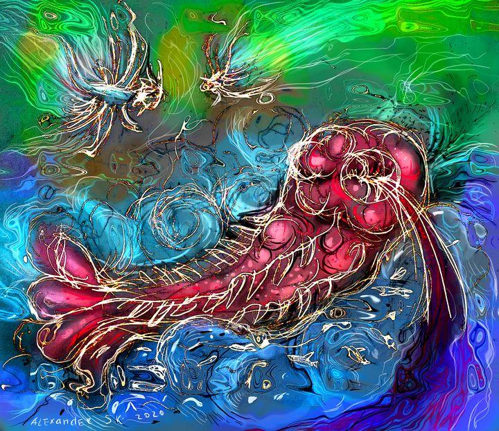 Dying Leviathan - Alex Diadav