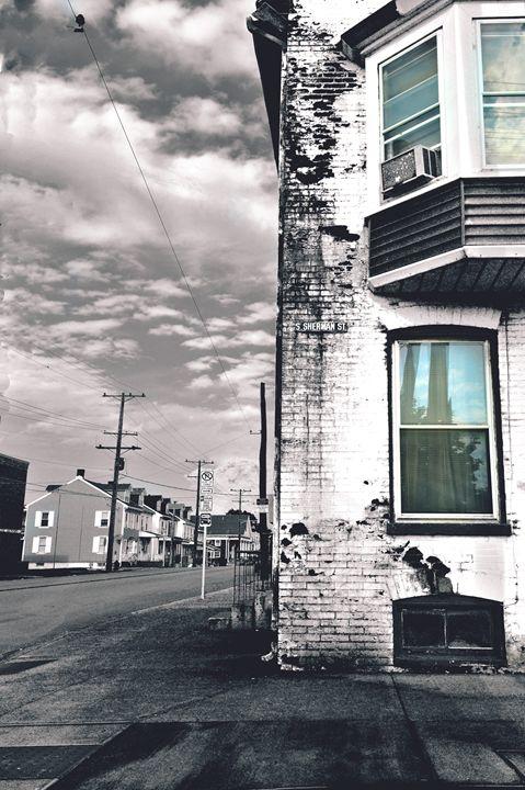 Sherman St. - Sunflower Photo