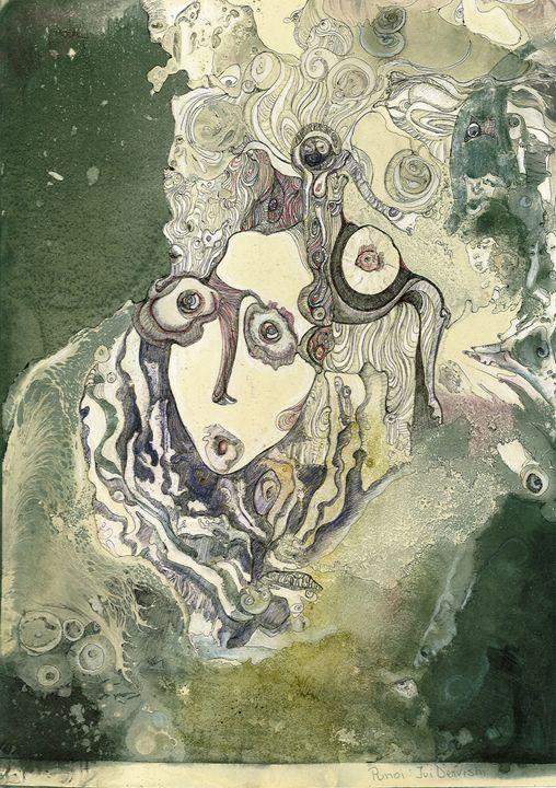Girl in the Surreal-Land - Ivi Dervishi