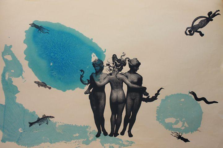 Medusa-Blue - Ivi Dervishi