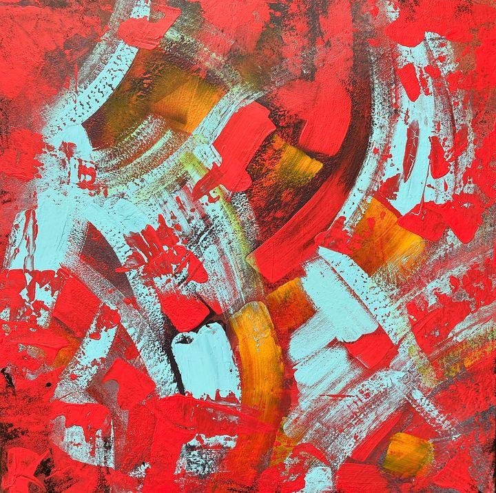 Red confetti - tinkabenka