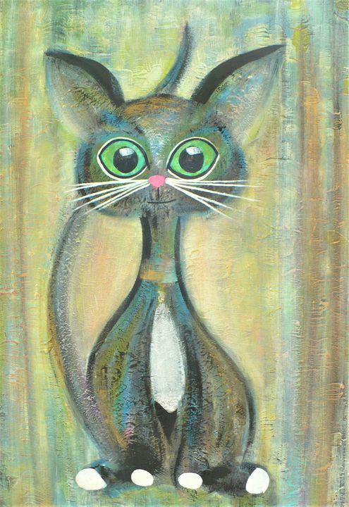 Cat from the magic forest - tinkabenka
