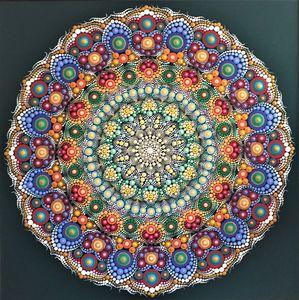 Rosette of harmony - mandala - tinkabenka