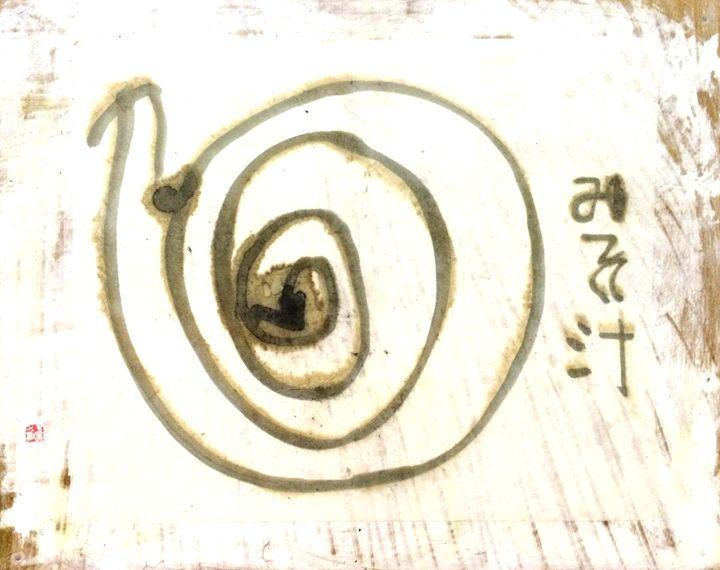 Miso soup. - Yuki Azuma