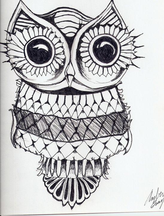 Owl - Ambers doodles