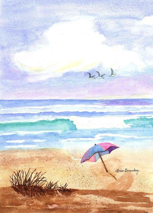 Ah, The Beach - Lorie Bramley