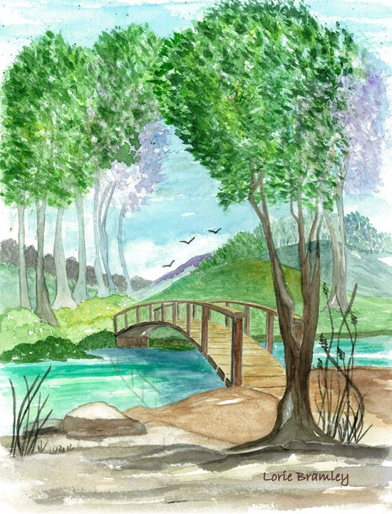 Beyond the Bridge - Lorie Bramley