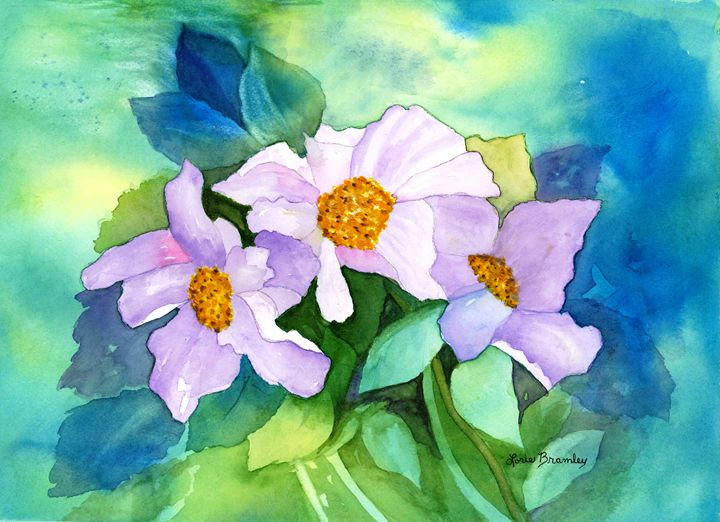Himalayan Poppies - Lorie Bramley